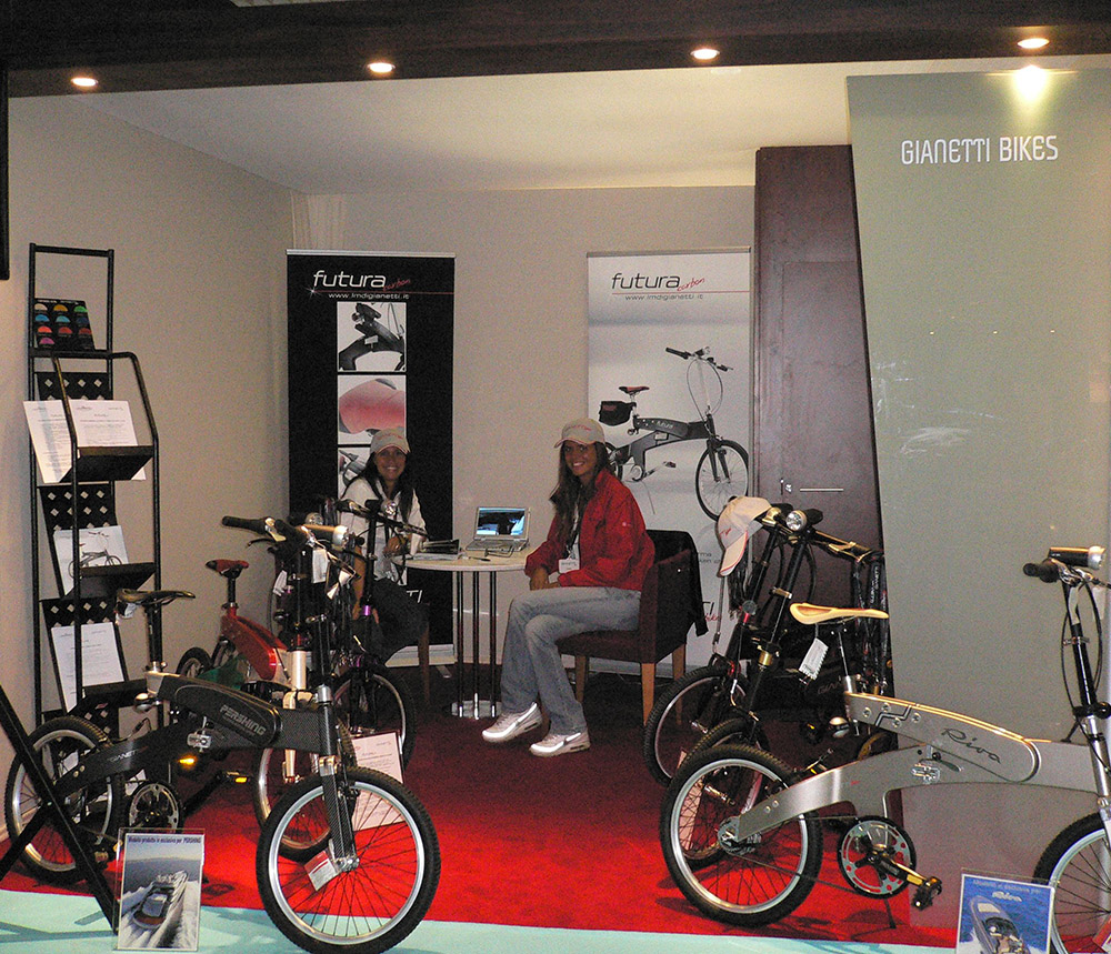 CANNES BOAT SHOW GIANETTI BIKES